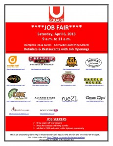 U Square Job Fair